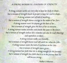 A Strong Woman Vs A Woman Of Strength Dan Ochu Baiye